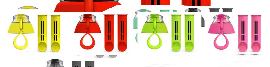 Wkłady węglowe do butelek filtrujących Dafi do kranówki