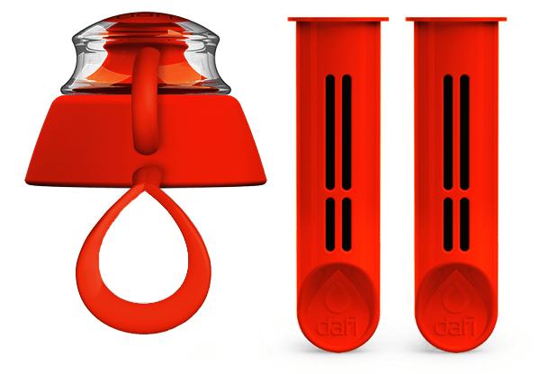 Makowa zestaw dwóch filtrów do butelki filtrującej Dafi