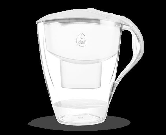 Biały dzbanek filtrujący do wody pitnej Omega Dafi