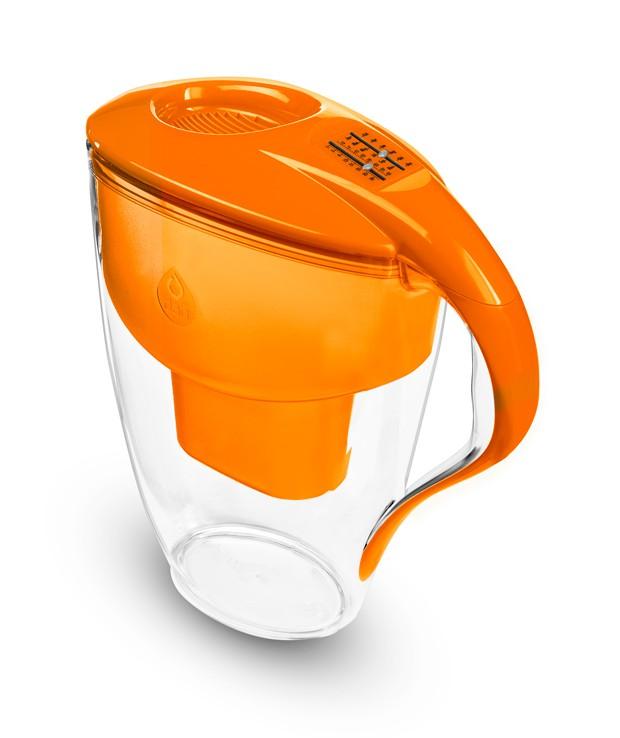 Pomarańczowy filtr dzbankowy do wody pitnej Astra Unimax Manual