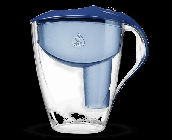 Granatowy filtr dzbankowy do wody pitnej Astra Classic Dafi