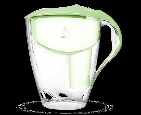 Seledynowy filtr dzbankowy do wody pitnej Astra Classic Dafi