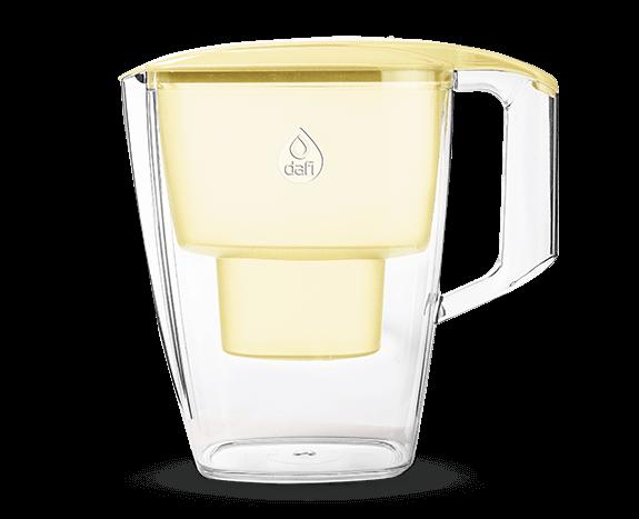 Żółty filtr dzbankowy do wody pitnej Sintra Dafi