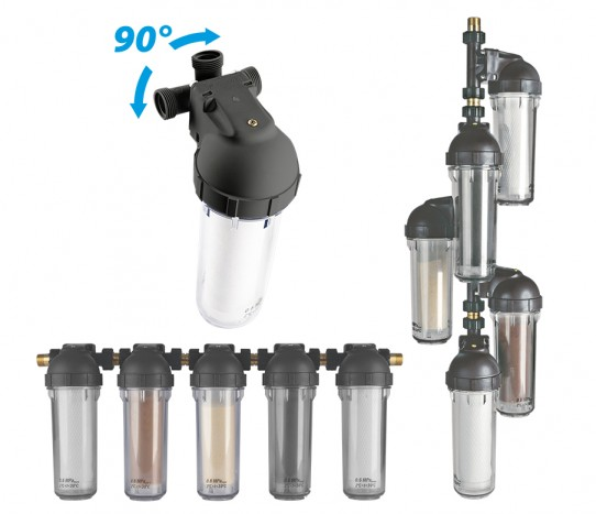Przykładowe sposoby montaży filtra wody Dafi