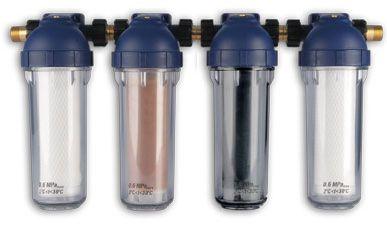 4-elementowy zestaw filtrujący do wody pitnej Dafi