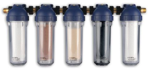 5-elementowy zestaw filtrujący do wody pitnej Dafi