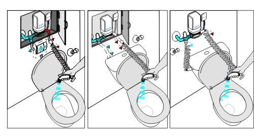 Ogrzewacz wody Dafi i zestaw higieniczny