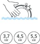 Rożne sposoby użycia podgrzewacza Dafi z nyplami