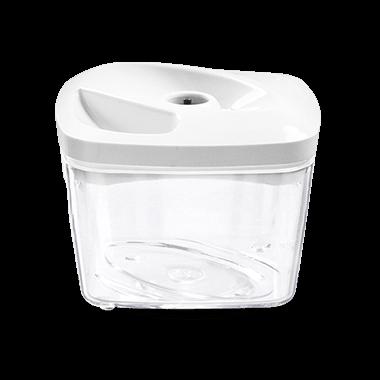 Biały pojemnik próżniowy do przechowywania żywności o pojemności 0,5 l