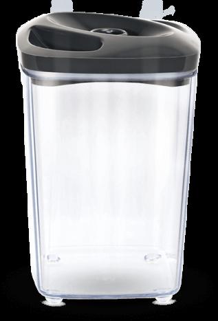 Grafitowy pojemnik próżniowy do przechowywania produktów spożywczych o pojemności 1,3 l