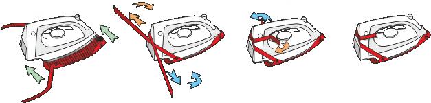 Sposób montażu teflonowej nakładki na żelazko