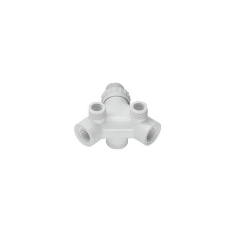 Korpus baterii Dafi - kolor biały