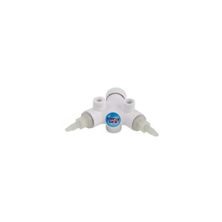 Korpus baterii Dafi z zaworami – kolor biały