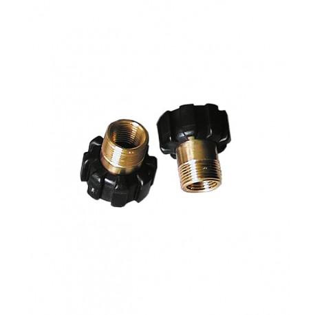 Komplet śrubunków obudowy filtra Dafi (2 szt.)