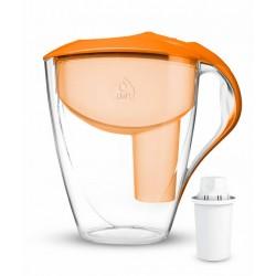 ASTRA 3 l Classic Manual pomarańczowy dzbanek filtrujący Dafi