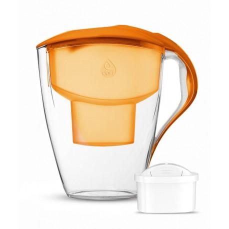 ASTRA 3 l Unimax Led pomarańczowy dzbanek filtrujący Dafi