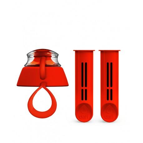2-Pak wkładów i zakrętka do butelki Dafi - makowa