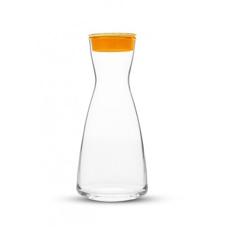 Szklana karafka Dafi kolor pomarańczowy