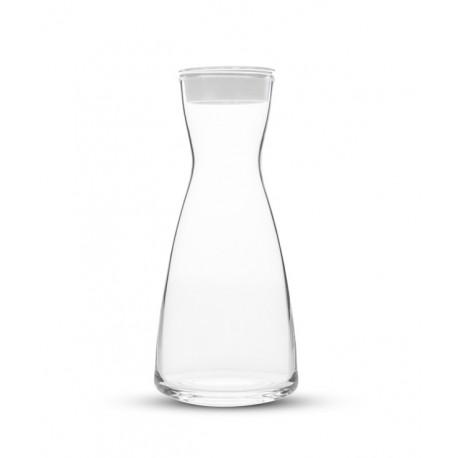 Szklana karafka Dafi kolor biały
