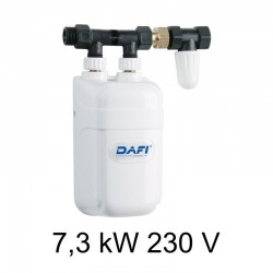 Ogrzewacz wody DAFI 7,3 kW 230 V z przyłączem