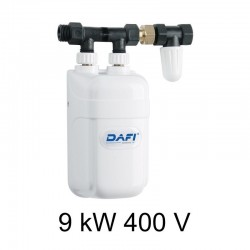 Ogrzewacz wody DAFI 9 kW 400 V z przyłączem