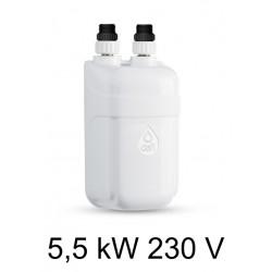 Ogrzewacz wody DAFI 5,5 kW 230 V - termoelement z nyplami