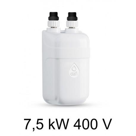 Ogrzewacz wody DAFI 7,5 kW 400 V - termoelement z nyplami
