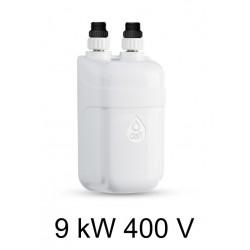 Ogrzewacz wody DAFI 9 kW 400 V - termoelement z nyplami