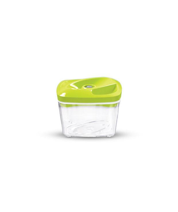 Seledynowy pojemnik próżniowy do przechowywania żywności o pojemności 0,5 l